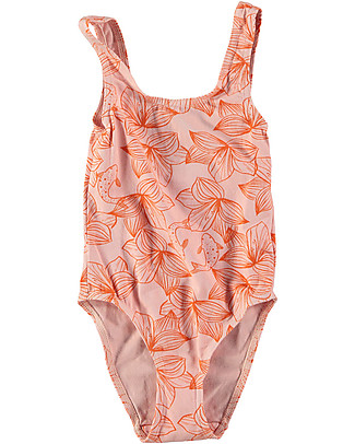 Picnik Girl Onepiece Swimwear, Pink/Flowers Swimsuits