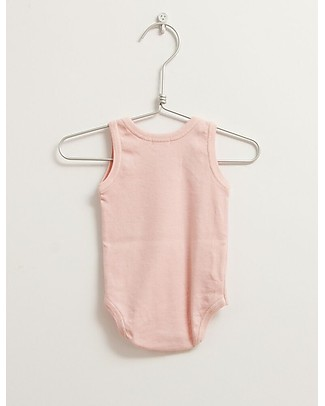 Picnik Sleeveless Body, Pink – 100% Cotton Short Sleeves Bodies