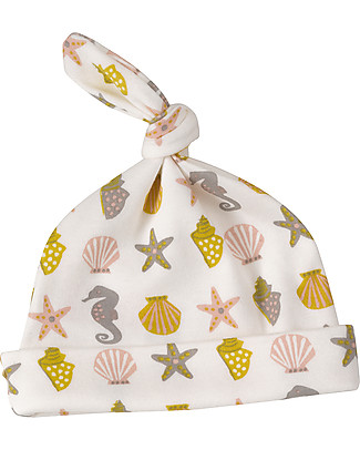 Pigeon - Organics for Kids Knotted Hat Seahorse - 100% Organic Hats