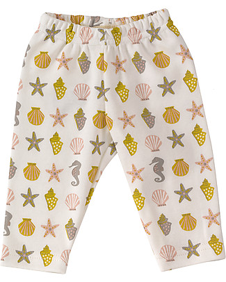 Pigeon - Organics for Kids Seahorse Leggings - 100% Organic Cotton Leggings