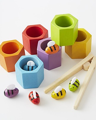 PlanToys BeeHives - Educational and Funny! Creative Toys