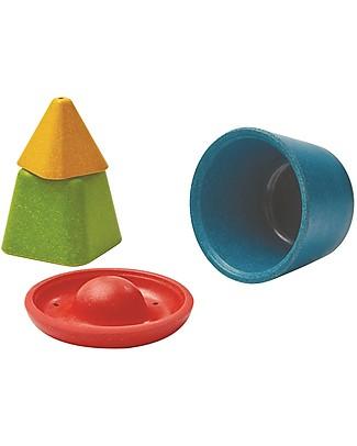 PlanToys Creative Sand Play Set: 4 Different Molds! Beach Toys