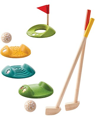 PlanToys Mini Golf  Full Set for Kids - For 2 Players Outdoor Games & Toys