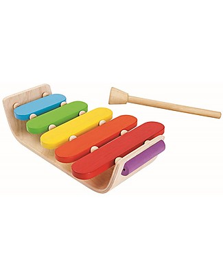 PlanToys Oval Xylophone - Colours, sounds and fun! Musical Instruments