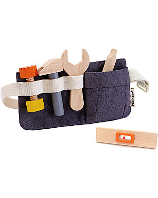 PlanToys Tool Belt Toy - Eco-friendly and fun Dressing Up & Role Play