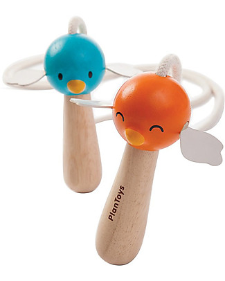 PlanToys Wood Skipping Rope - Eco-friendly and funny! Outdoor Games & Toys
