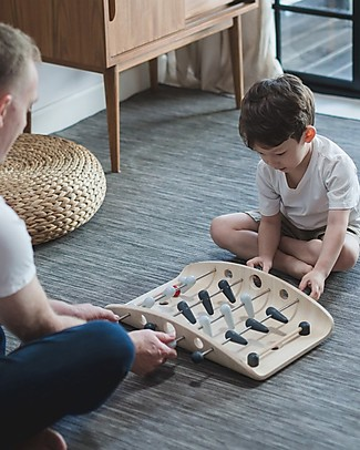 PlanToys Wooden Board Game, Soccer - Eco-friendly and fun Board Games