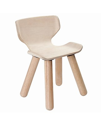 PlanToys Wooden Chair for Kids, 3-6 years - Design and sustainability! Chairs