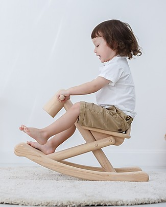 PlanToys Wooden Foldable Rocking Horse - from 1 to 5 years Rides On