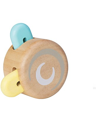PlanToys Wooden Pastel Peek-a-boo Roller- Eco-friendly and fun! Outdoor Games & Toys