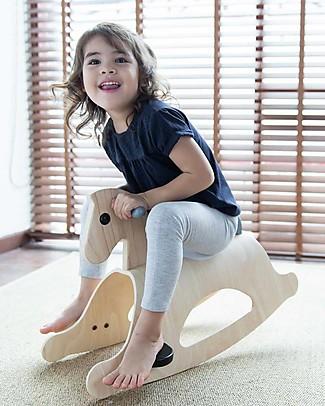 PlanToys Wooden Rocking Horse Palomino Mono Rides On