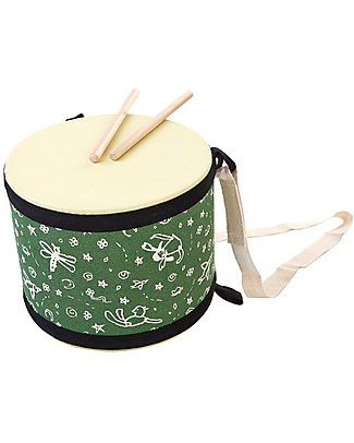 PlanToys Wooden Solid Big Drum  Musical Instruments