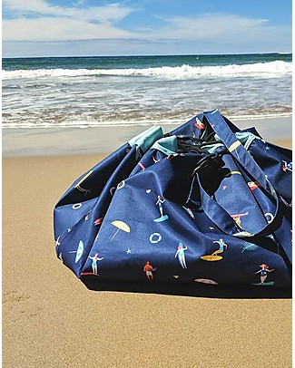 Play&Go Portable 2 in 1 Storage Bag & Outdoor Playmat - Surf Playmats
