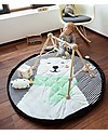 Play&Go Portable 3 in 1 Storage Bag, Diaper Bag & Playmat in Soft Cotton - Polar Bear Playmats