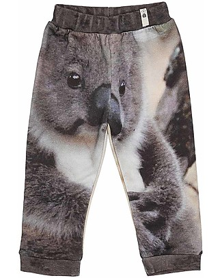 Popupshop Baby Sweat Pants, Koala - Organic cotton Trousers