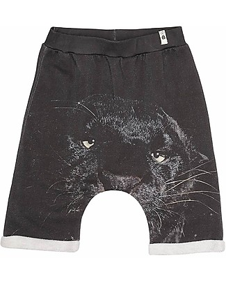 Popupshop Baggy Shorts, Panther - 100% Organic cotton Shorts