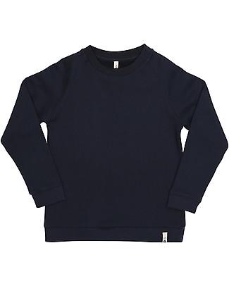 Popupshop Basic Sweat, Navy - 100% Organic cotton Sweatshirts