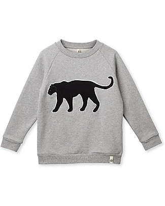 Popupshop Basic Sweat Panther - 100% organic cotton Sweatshirts