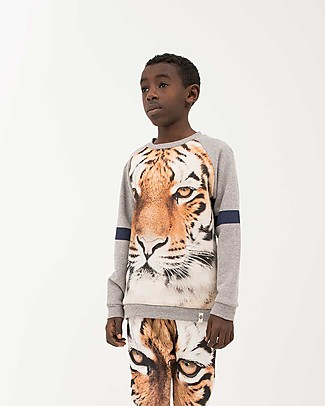 Popupshop Basic Sweat Tiger - 100% organic cotton Sweatshirts