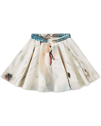 Popupshop Circle Skirt Swan - 100% organic cotton Skirts