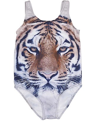 Popupshop Classic Swimsuit Girl, Tiger Swimsuits