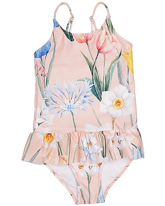 Popupshop Girl Ruffles Swimsuit, Flower  Swimsuits