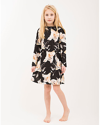 Popupshop Karen Dress, Lilium Flower - 100% cotone bio Dresses