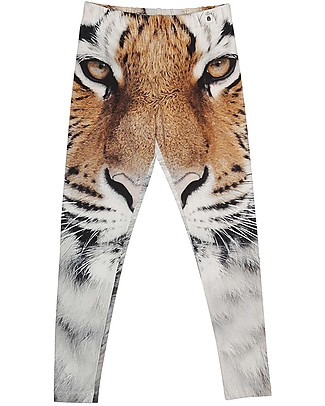 Popupshop Kids Leggings, Tiger - Organic cotton Leggings