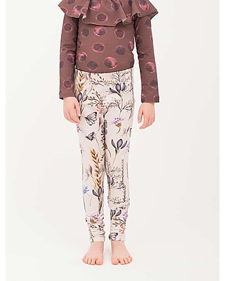 Popupshop Leggings Ella, Winter Flower - 100% organic cotton Leggings