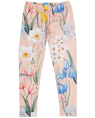 Popupshop Leggings Flower - Organic cotton Leggings