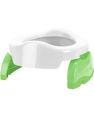 Potette 2in1 Potette 2in1, Trainer Seat and Travel Potty - White - includes 3 liners Potties