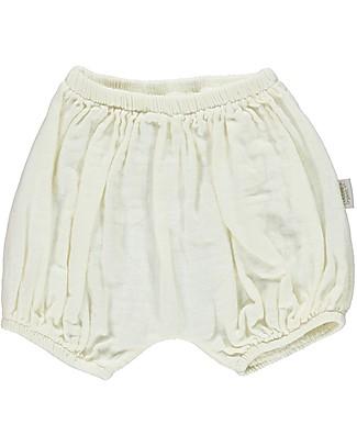 Poudre Organic Baby Bloomer, Milk - 100% organic cotton Shorts