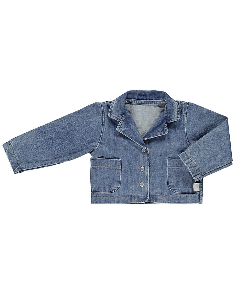Poudre Organic Baby Denim Jacket 100% Organic Cotton