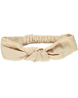 Poudre Organic Girl's Headband, Amber Light - Organic Cotton Hair Accessories