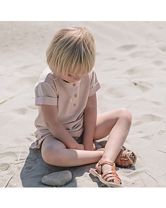 Poudre Organic Girl T-shirt Dress Calendula, Amber Light - 100% organic cotton Dresses