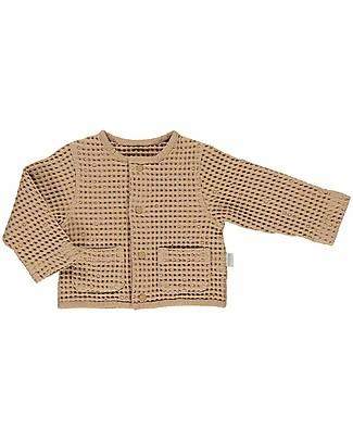 Poudre Organic Manioc Cardigan Waffle, Indian Tal - 100% organic cotton Sweatshirts