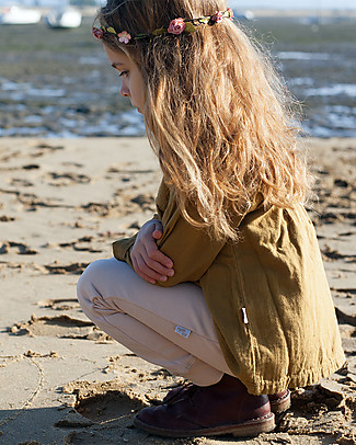 Poudre Organic Organic Cotton Jersey Leggings, Amber Light Leggings