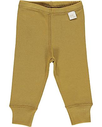Poudre Organic Organic Cotton Jersey Leggings, Brown Sugar Leggings