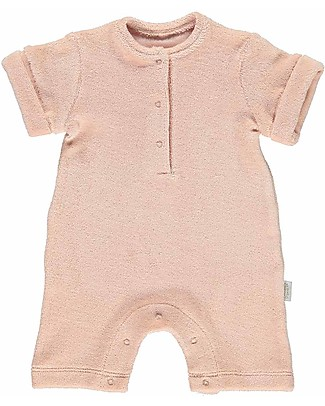 Poudre Organic Sponge Guimauve Onepiece with Buttons Badiane, Evening Sand - 100% organic cotton Sets And Co-Ords