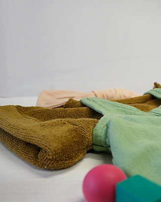 Poudre Organic Sponge T-shirt Laurier, Brown Sugar (18-24 months) - 100% organic cotton T-Shirts And Vests