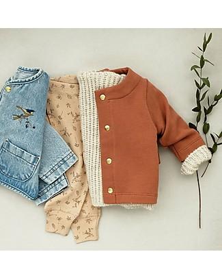 Poudre Organic Unisex Sweater, Sierra - 100% organic cotton fleece Sweatshirts