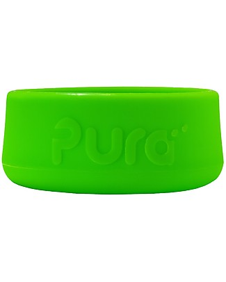 Pura Kiki Silicone Bumpers for Pura Kiki Stainless Steel Bottles 325/250/150 ml, Green Thermos Bottles