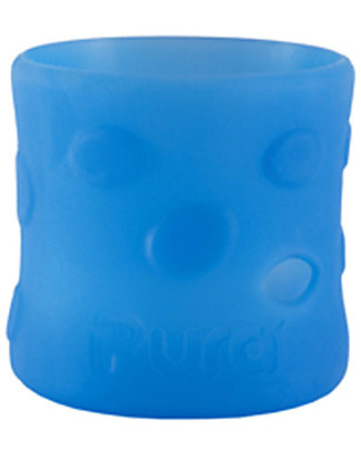 Pura Kiki Silicone Sleeves For 150ml Bottle - Blue Stainless Steel Baby Bottles
