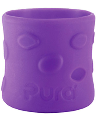 Pura Kiki Silicone Sleeves For 150ml Bottle - Purple Stainless Steel Baby Bottles