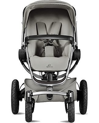 Quinny Buzz Xtra Stroller, Grey Gravel - Unique Design & Perfect as a 3 in 1 travel system Travel Systems