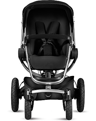 Quinny Buzz Xtra Stroller, Rocking Black - Unique Design & Perfect as a 3 in 1 travel system Pushchairs