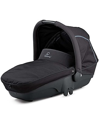 Quinny Foldable Carrycot for Moodd and Buzz Strollers - Black Devotion Pram Systems