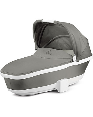 Quinny Foldable Carrycot for Moodd and Buzz Strollers - Grey Gravel Pram Systems