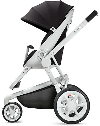 Quinny Moodd Stroller, Black Irony – Unique Design & Perfect as a 3 in 1 travel system Travel Systems