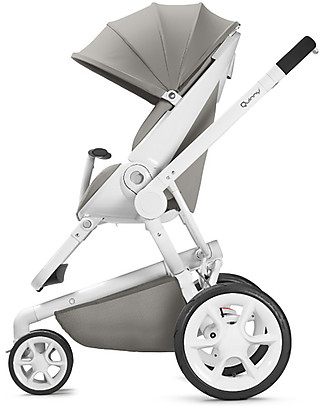 Quinny Moodd Stroller, Grey Gravel – Unique Design & Perfect as a 3 in 1 travel system Travel Systems